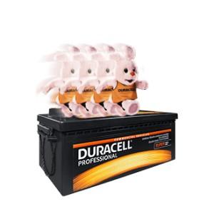 Akumulator - DURACELL PROFESSIONAL 12v, 180Ah, L+, 1000A