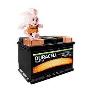 Akumulator - DURACELL STARTER 12v, 60Ah, D+, 480A