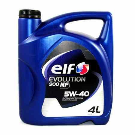 Ulje za motor - ELF EVOLUTION 900 NF - 5W-40 4L