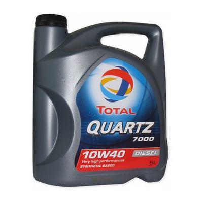 Ulje za motor - TOTAL Q7000D Diesel - 10W-40 5L
