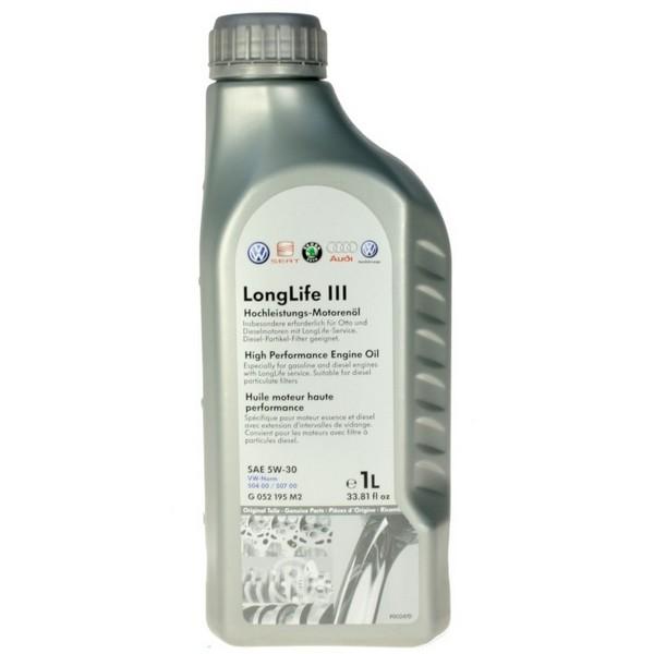 Ulje za motor - VW (Volkswagen) LongLife III 0W-30 1L